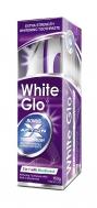 White Glo 2 in 1 with Mouthwash 150gr Λευκαντική Οδοντόκρεμα με Στοματικό Διάλυμα + Οδοντόβουρτσα