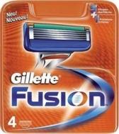Gillette Ανταλλακτικά Fusion (4 τεμάχια)