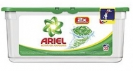 Ariel Απορρυπαντικό Πλυντηρίου Υγρές Κάψουλες Κανονικό 32τεμ