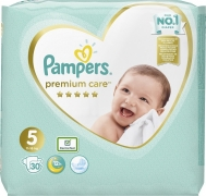 Pampers Premium Care No 5 (11-16kg) 30τμχ