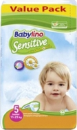 BABYLINO SENSITIVE No5 (11-25kg) 44τμχ