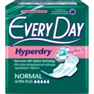 Every Day Hyperdry Σερβιέτες Ultra Plus Normal 10τμχ