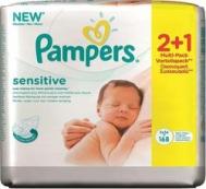 Pampers Sensitive 2*56τμχ & Δώρο 1*56τμχ