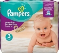 Pampers Active Fit No 3 (4-9 Kg) 28 τεμάχια