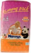 ΠΑΝΕΣ NANNYS BABY'S WISH Νο4 (8-18 kg) 48 τμχ