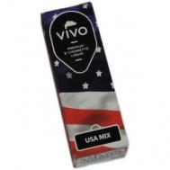 Υγρά αναπλήρωσης για ηλεκτρονικό τσιγάρο VIVO e-liquids Usa Mix Nic 12mg 10ml