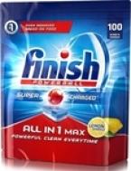 Finish Ταμπλέτες Πλυντηρίου All In 1 Max Lemon 100ταμπλ.