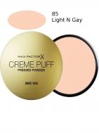 Max Factor Creme Puff Powder Compact 85 Light N Gay 21gr