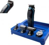 Σετ Κουρευτικής και Ξυριστικής Μηχανής για Μαλλιά, Γένια, Μύτη, trimmer 5 σε 1 Kemei KM-690