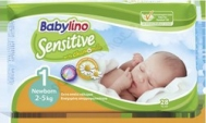BABYLINO SENSITIVE No1 (2-5kg) 28τμχ