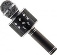 Ασύρματο Μικρόφωνο Bluetooth με Ενσωματωμένο Ηχείο και Karaoke OEM Microphone Q7 WS-858 ΜΑΥΡΟ-ΟΕΜ