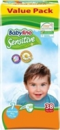 BABYLINO SENSITIVE No7 (17+kg) 38τμχ