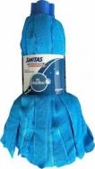 SANITAS PRO Επαγγελματική σφουγγαρίστρα με νήμα μικροινών σε μπλε χρώμα σειρά Regular