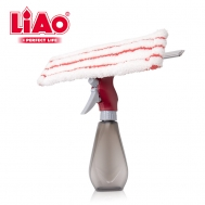 LIAO Spray Window Cleaner B130064 Μέγεθος 26 CM. Κόκκινο - Γκρι