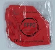 FFP2 Civil Protective Mask BFE >95% Κόκκινο 1τμχ