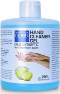 Open Cosmetics Hand Cleaner Gel Χωρίς Αντλία 500ml