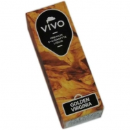 Υγρά αναπλήρωσης για ηλεκτρονικό τσιγάρο VIVO e-liquids Golden Virginia Nic 12mg 10ml