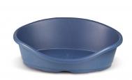 Πλαστικό κρεβάτι σκύλου και γάτας 80x60x25 cm / μπλε (PSM-609072)