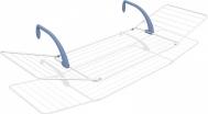 Gimi Πτυσσόμενη Απλώστρα Κρεμαστή Μεταλλική Brezza 200 178x55cm