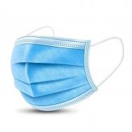 Disposable 3-Layer CE Πιστοποίηση Μάσκα Μιας Χρήσης & Ειδικό Έλασμα 1 τμχ