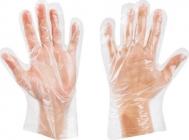 Γάντια διαφανή σαγρέ HDPE 100 τεμαχίων πολυαιθυλενίου GOLDGLOVE