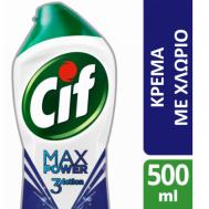 Cif Kρέμα με Eνεργό Χλώριο 500ml