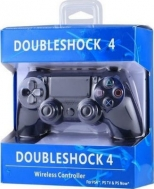 Double Shock 4 Wireless Controller for PlayStation PS4 , PSTV - PS Now P4-310- Black