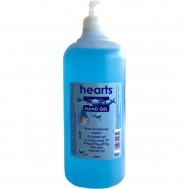 Hearts Αντισηπτικό Xεριών με αντλία σε συσκευασία 1lt Hearts Αντισηπτικό Xεριών με αντλία σε συσκευασία 1lt