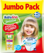Babylino Pants Unisex No7 Extra Large Plus Jumbo Pack 17+kg (38τεμ