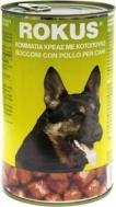 Rokus Dog Κονσέρβα κοτοπουλο  1250gr