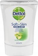 Dettol No-Touch Refill Αντιβακτηριδιακό Κρεμοσάπουνο Ανταλλακτικό Aloe Vera & Vitamin E 250ml