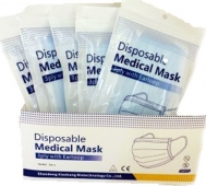 Shandong Xiaokang Biotechnology Co Ltd XK-A Disposable Medical Mask 3ply with Earloop 50τμχ