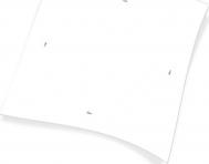 Endless Τραπεζομάντηλο Λευκό 100x100cm (150τμχ)